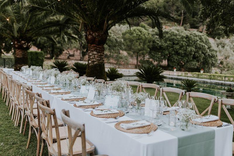 Cómo colocar a los invitados en el banquete de boda 1