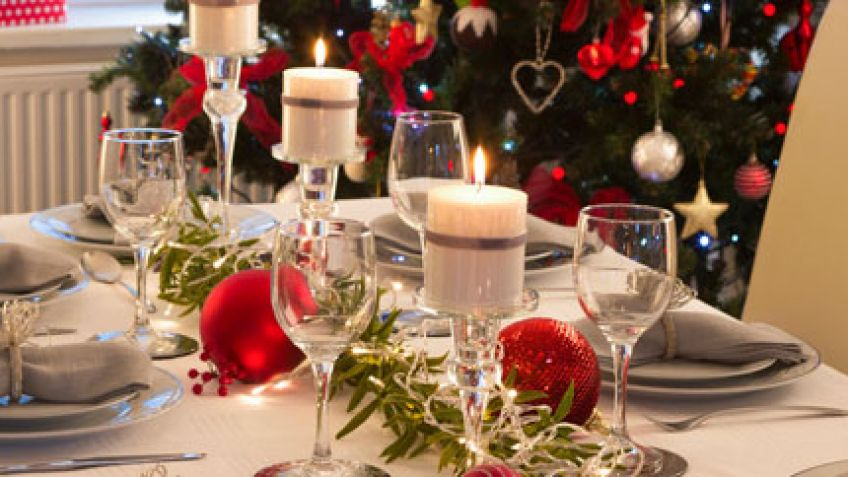Decora la mesa de Navidad 1