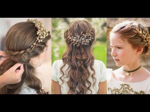 Peinados de comunión para niñas 1